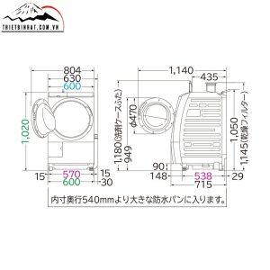 thông số kỹ thuật hitachi bd sv110al