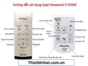 Hướng dẫn sử dụng Quạt điện Panasonic F-CP339