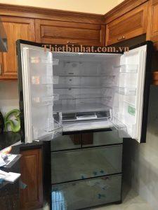 Tủ lạnh hitachi r-wx74j nhật bản