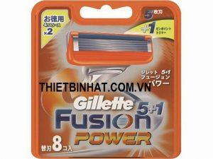 HỘP 8 LƯỠI GILLETTE FUSION 5+1