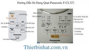 Quạt cây Panasonic F-Cl327