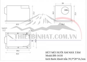 Bản vẽ lắp đặt BS-161H