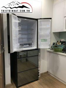 Tủ lạnh hitachi R-WX62j nhật bản