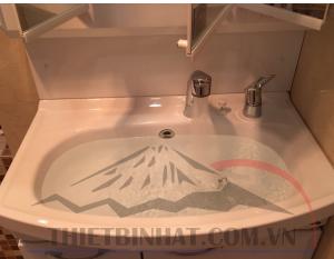 Tủ chậu nhà tắm takara thép tráng men nhật bản